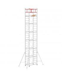 Trabattello M4 LUX base normale (h lavoro 9,70 m)